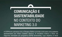 Palestra Comunicação e Sustentabilidade no Contexto do Marketing 3.0